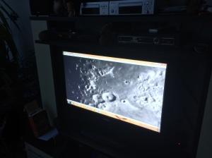 Livestream Teleskop Webcam auf Fernseher
