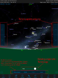 SkyPortal Teleskopsteuerung
