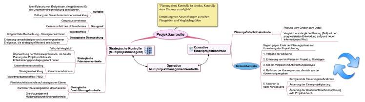 Projektkontrolle - Überblick