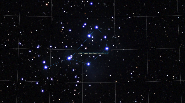 Asterismus - Plejaden