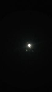 Jupiter überbelichtet
