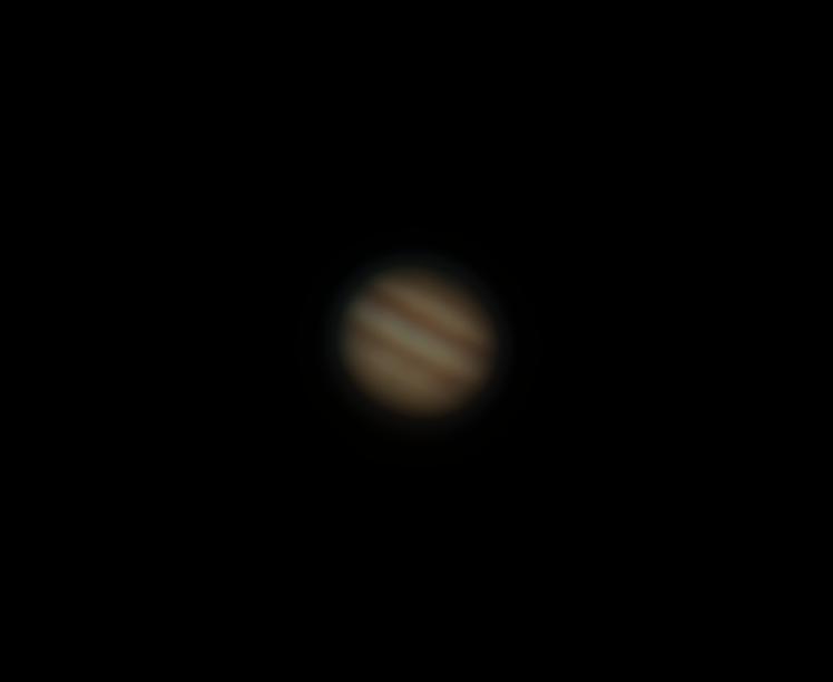 Jupiter am 13.02.15 - 245-fache Vergrößerung