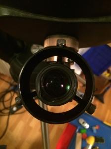 Adapterring am Okular (25 mm Plössl)