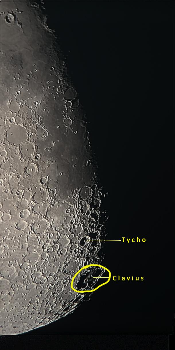 Mond 27.02.15 - Tycho und Clavius