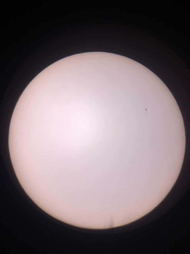 SoFi2015 Sonne um 08:34 Uhr
