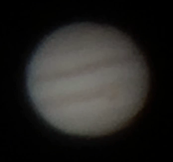 Jupiter am 10.04.15 Einzelbild Video