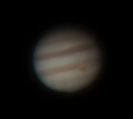 Jupiter am 10.04.15