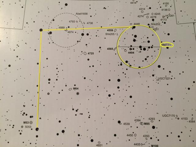 Mel111 im Sternbild Haar der Berenike