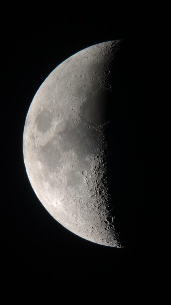 Der Mond am 24.05.15 in der Nacht aufgenommen.