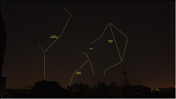 Saturn bei Skorpion 20150524