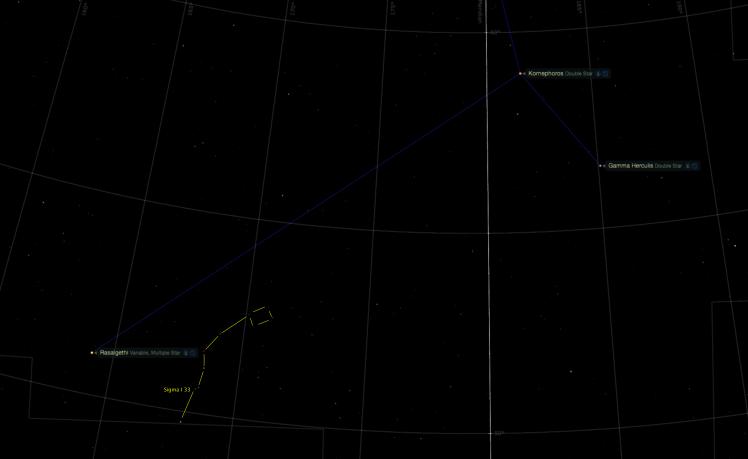 Asterism Sudor Ophiuchi