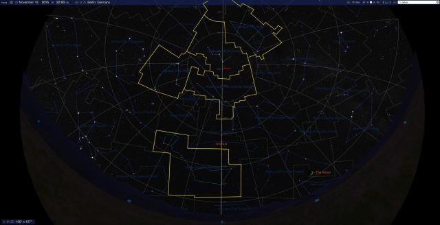 Sternbilder Andromeda und Co