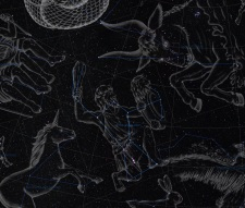Sternbild Orion Illustration