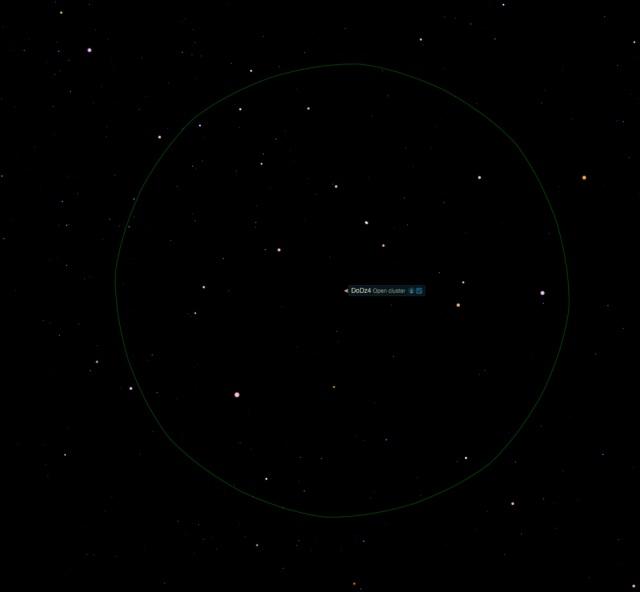 Offener Sternhaufen DoDz4