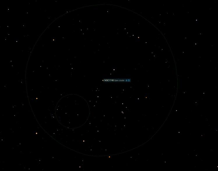 Offener Sternhaufen NGC 1746
