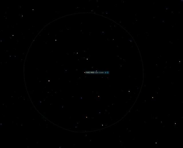 Offener Sternhaufen NGC 1802