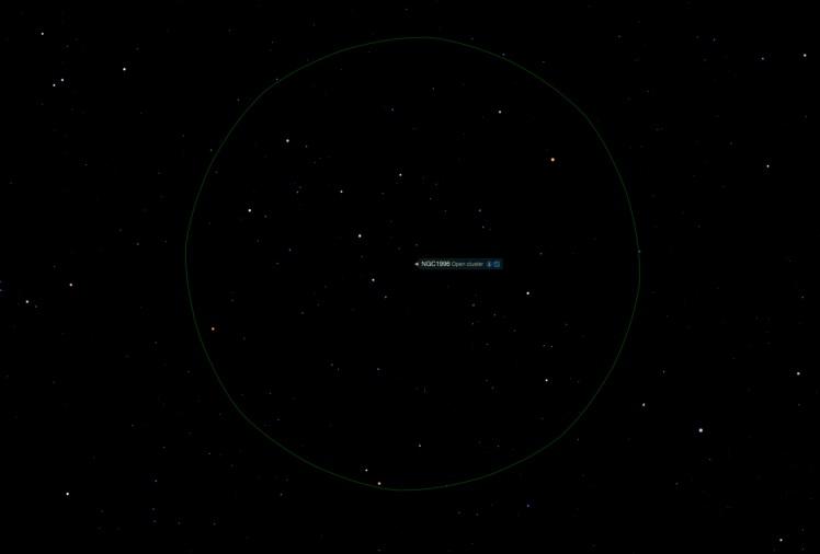 Offener Sternhaufen NGC 1996