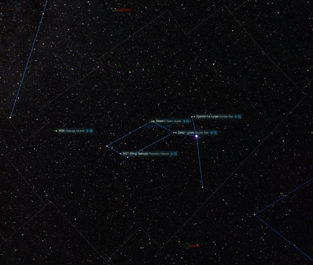 Sternbild Leider Beobachtungsobjekte
