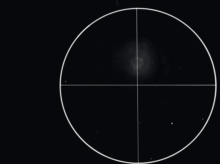 M13 Herkuleshaufen Zeichnung 06.05.16, 23:30 Uhr, Norden ist oben, Osten ist links