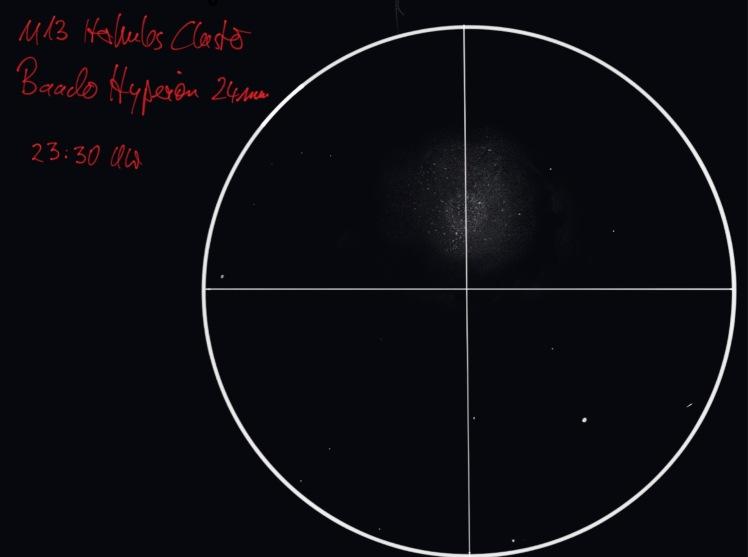 M5 Kugelsternhaufen - Zeichnung