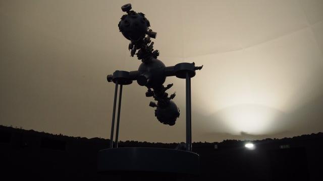 Die Archenhold Sternwarte hat auch ein kleines Planetarium.