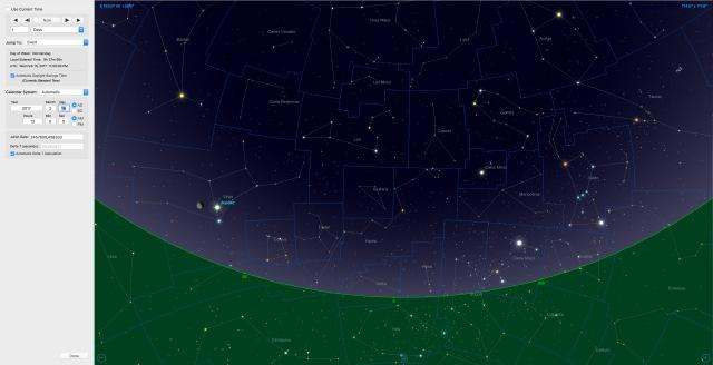 Mond bei Jupiter am 16.02.17