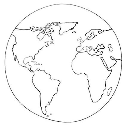 Malvorlage Erde Planeten Murderthestout