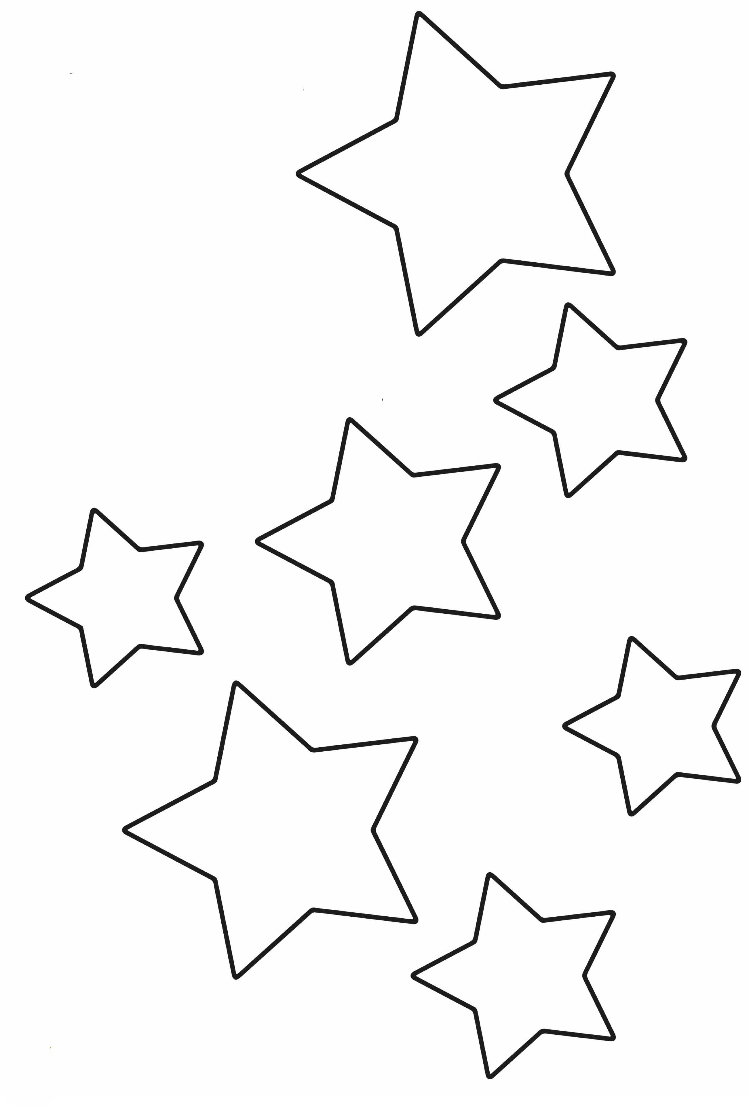 Berühmt Malvorlagen Von Sternen Und Monden Bilder ...