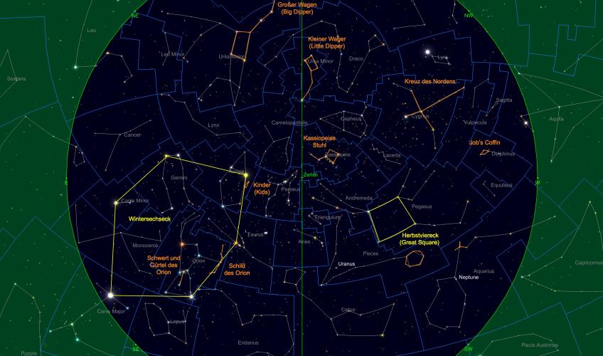 Astronomie ohne teleskop: vorschau für november 2017 volker