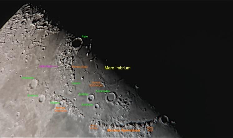 Mare Imbrium am 23.02.18 - gestackt mit Nachbearbeitung
