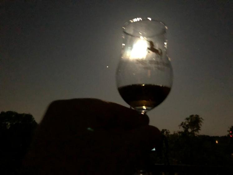 Cheers an Mond und Jupiter