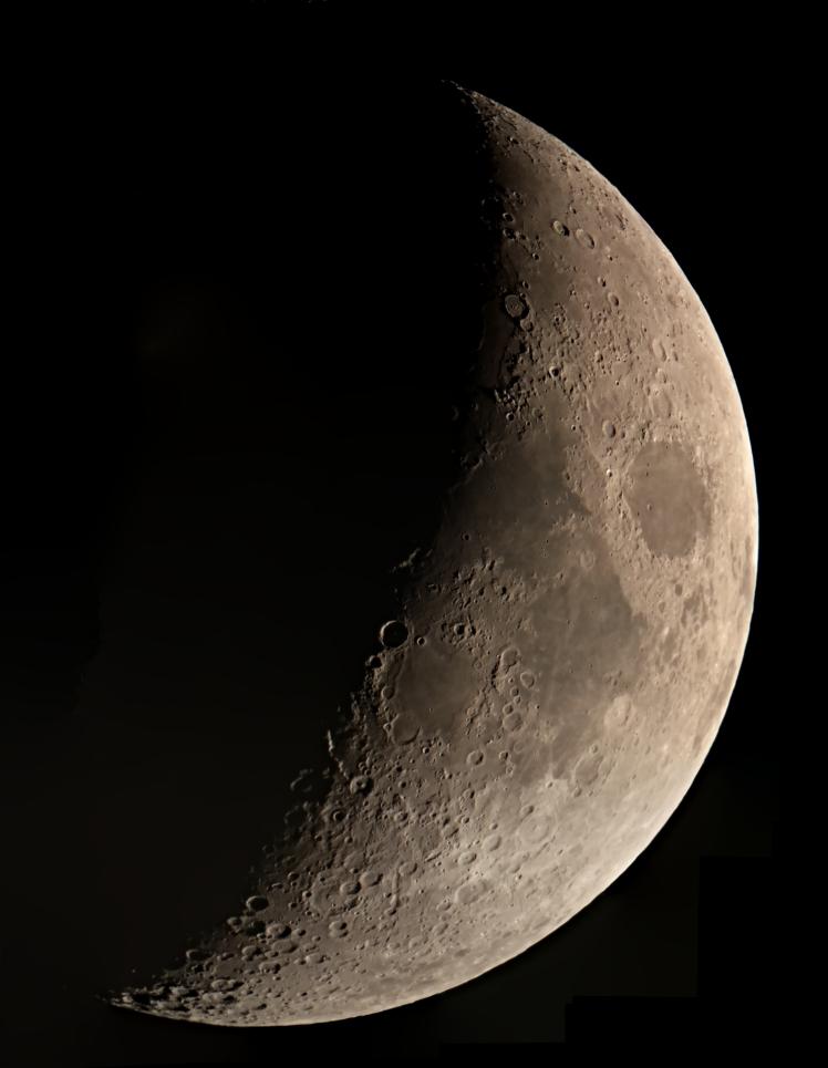 Der Mond am 16.08.18