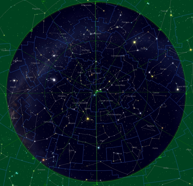 Sternhimmel am 15.02.19, 04:00 Uhr