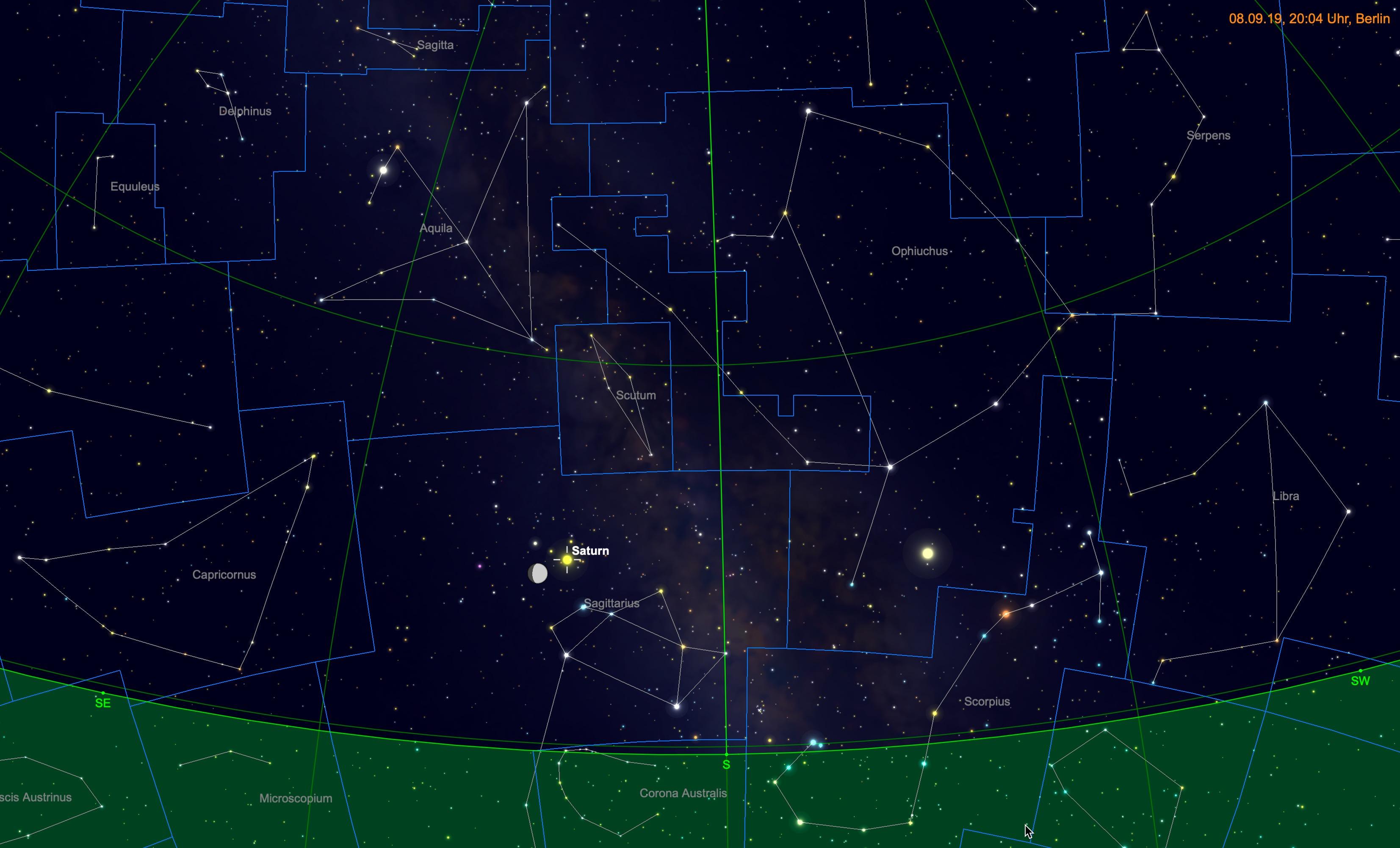Ariane Walkthrough Sterne
