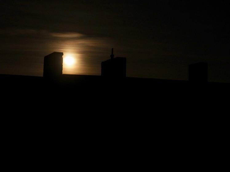 Schlechte Sicht auf den Mond
