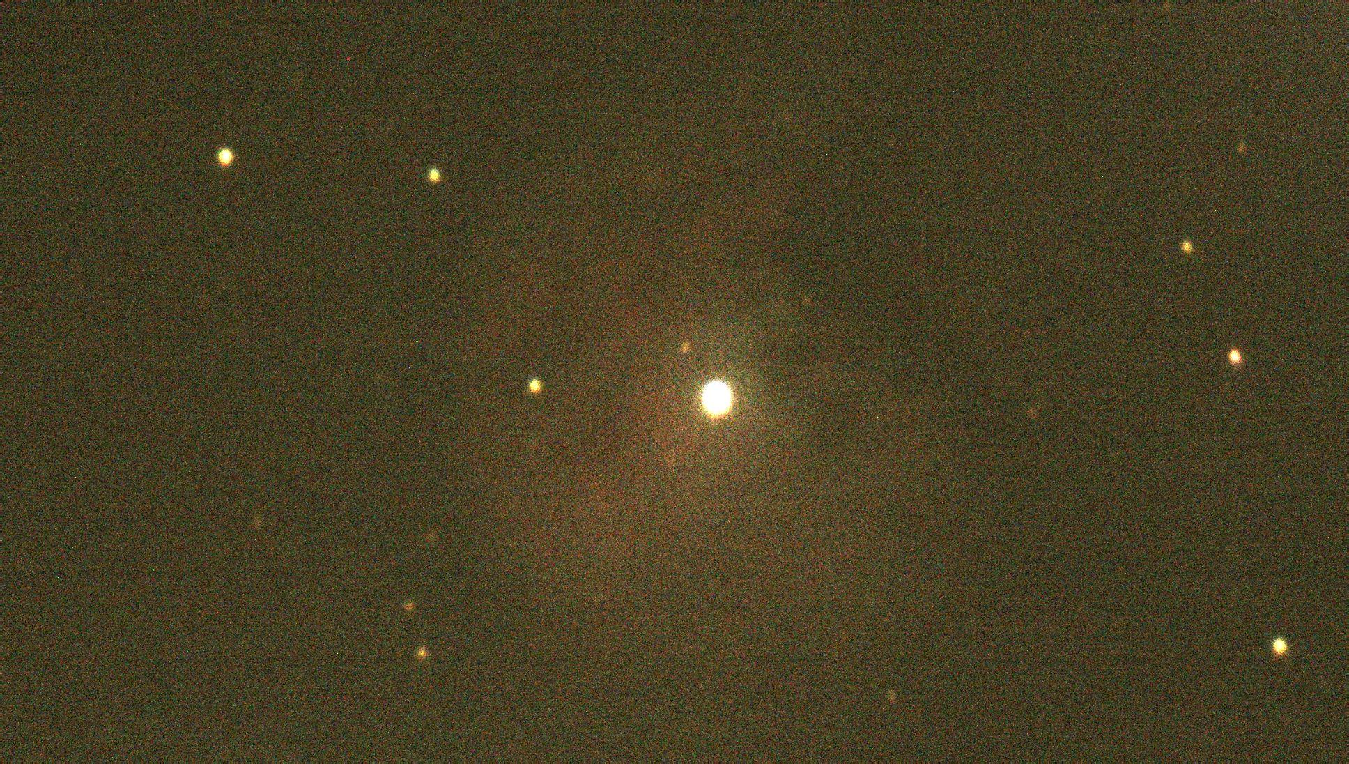 M43 - Belichtung: 5s, Gain: 50