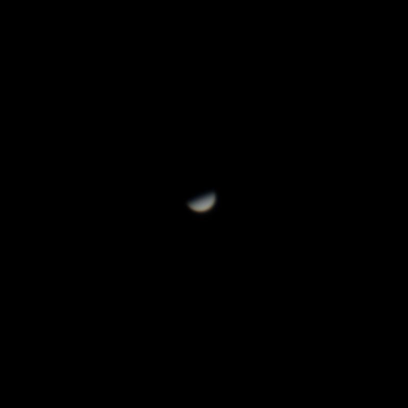 Venus mit Phase
