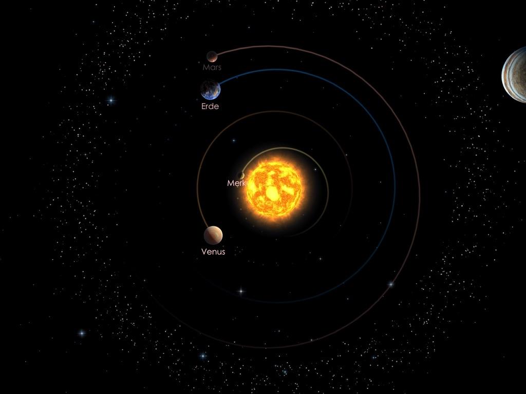 Die inneren Planeten am 01.10.20