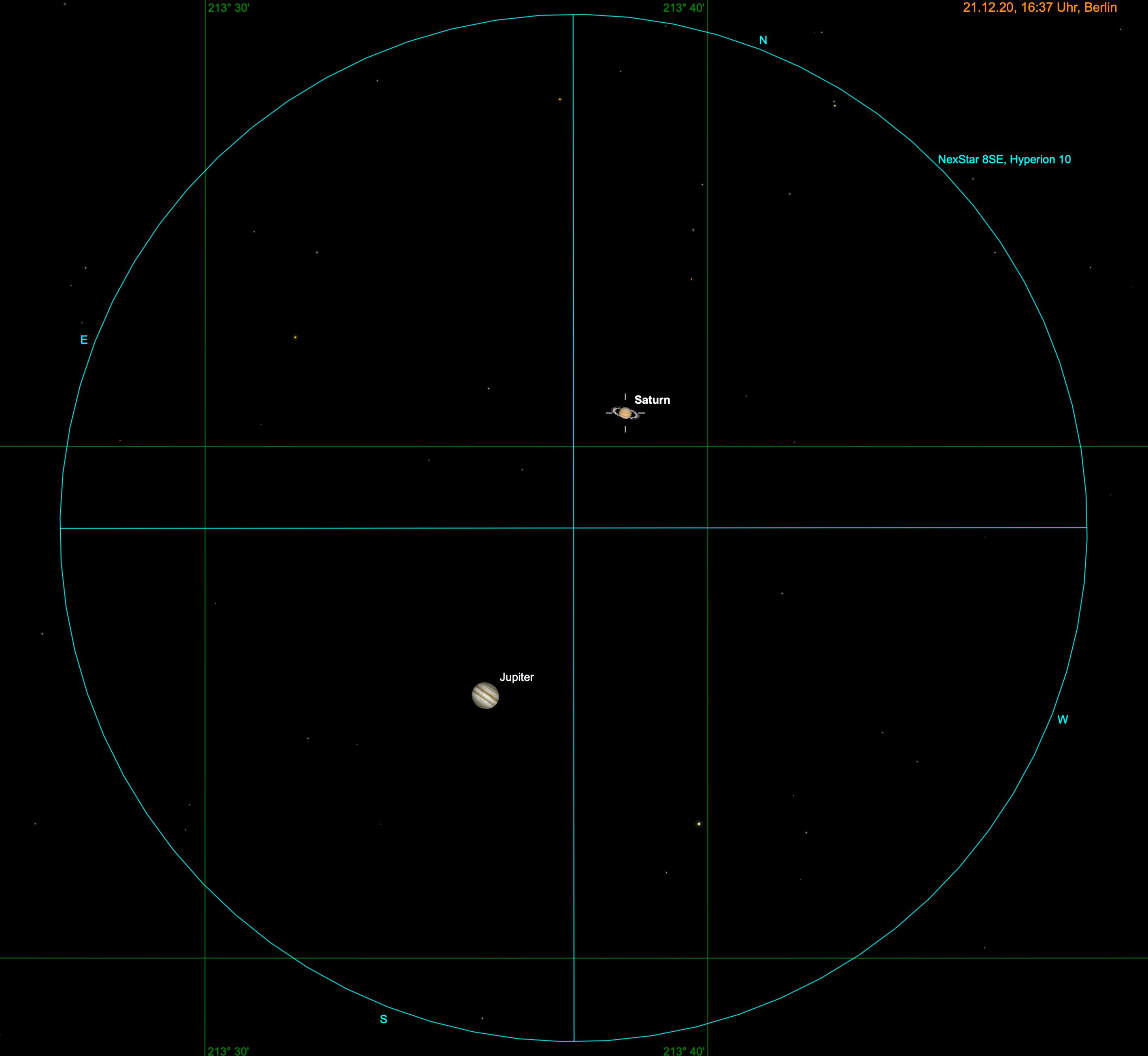 Jupiter und Saturn im Teleskop
