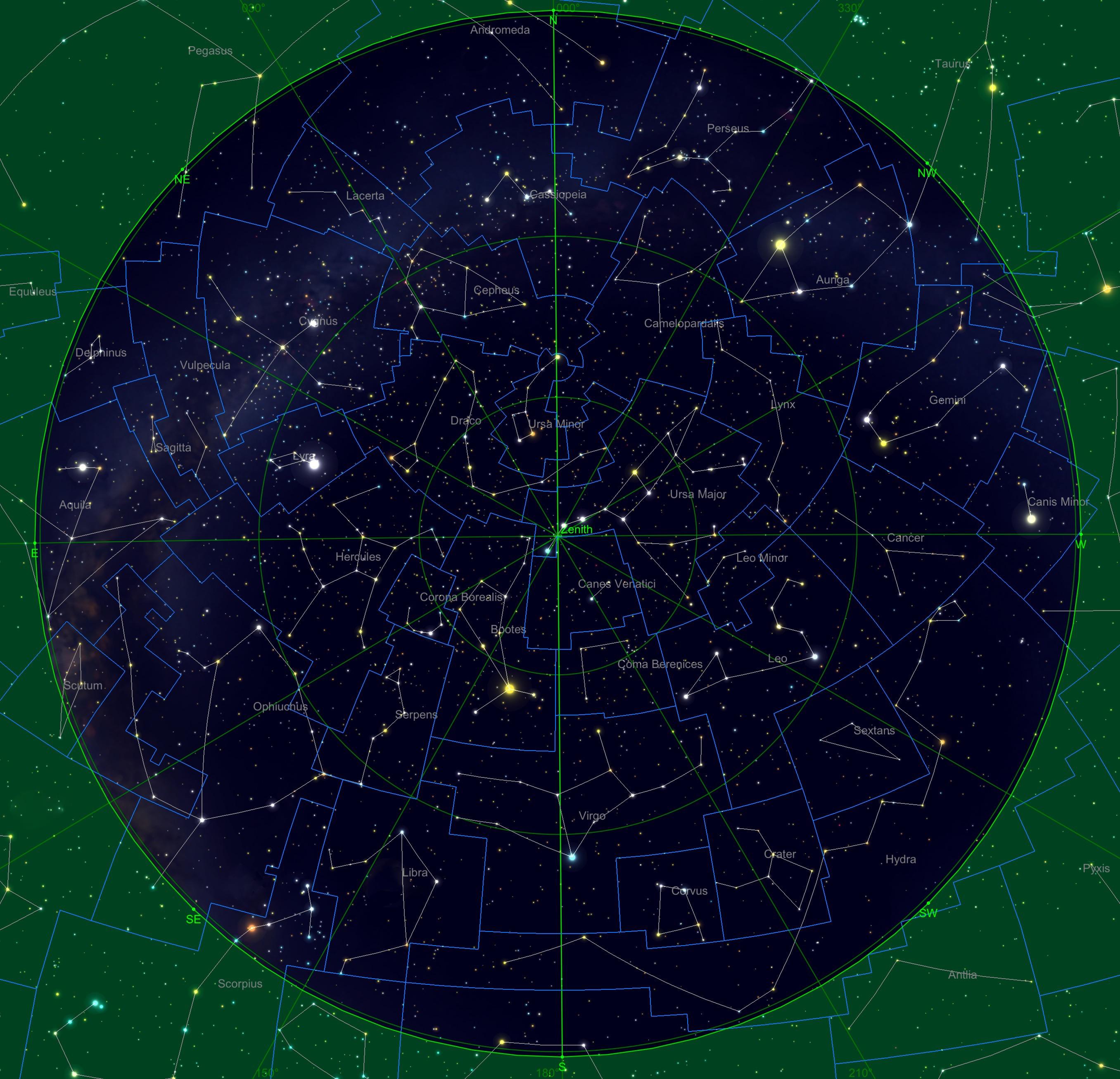Sternhimmel am 15.02.20, 04:00 Uhr