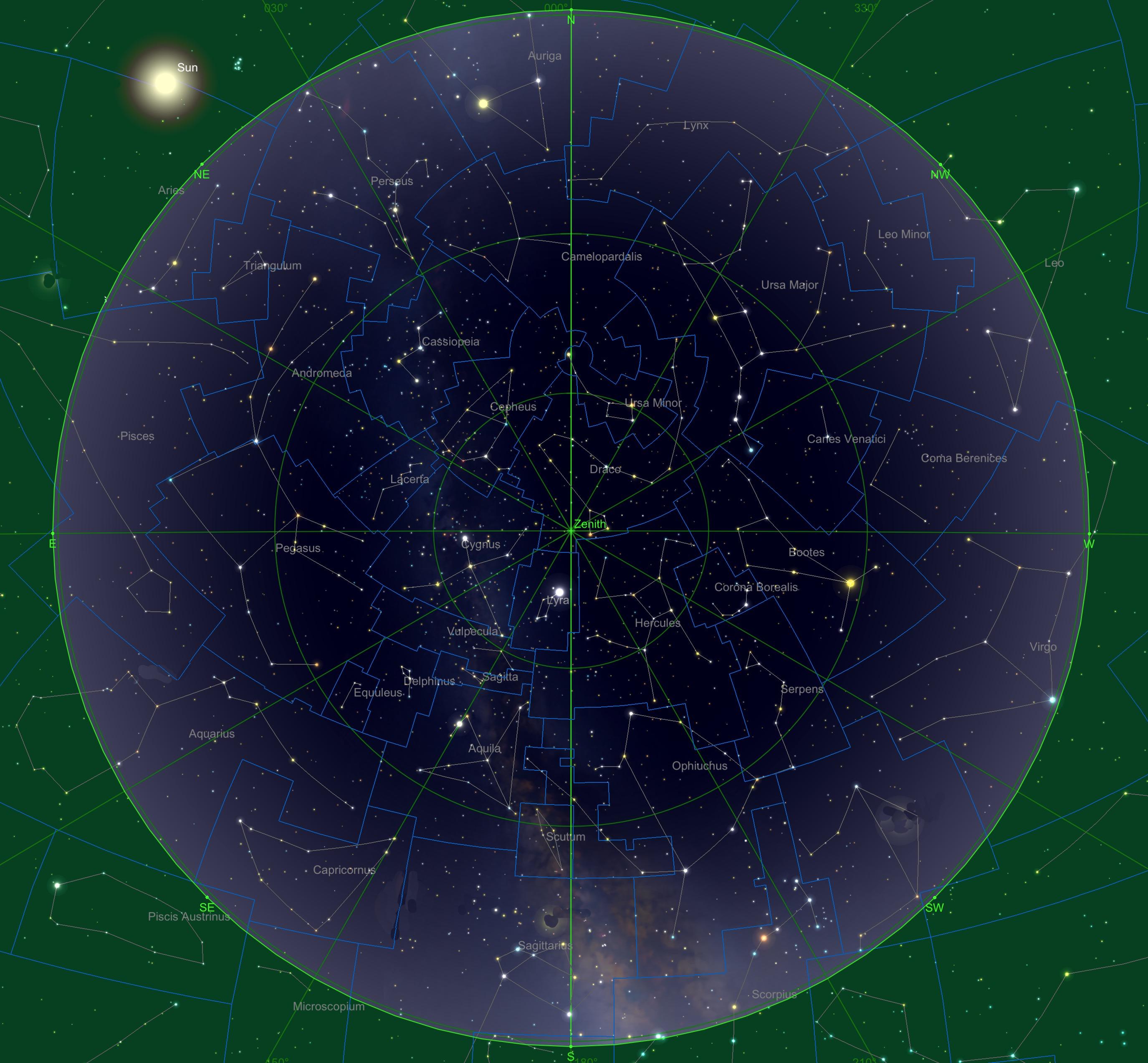 Sternhimmel am 15.04., 04:00 Uhr
