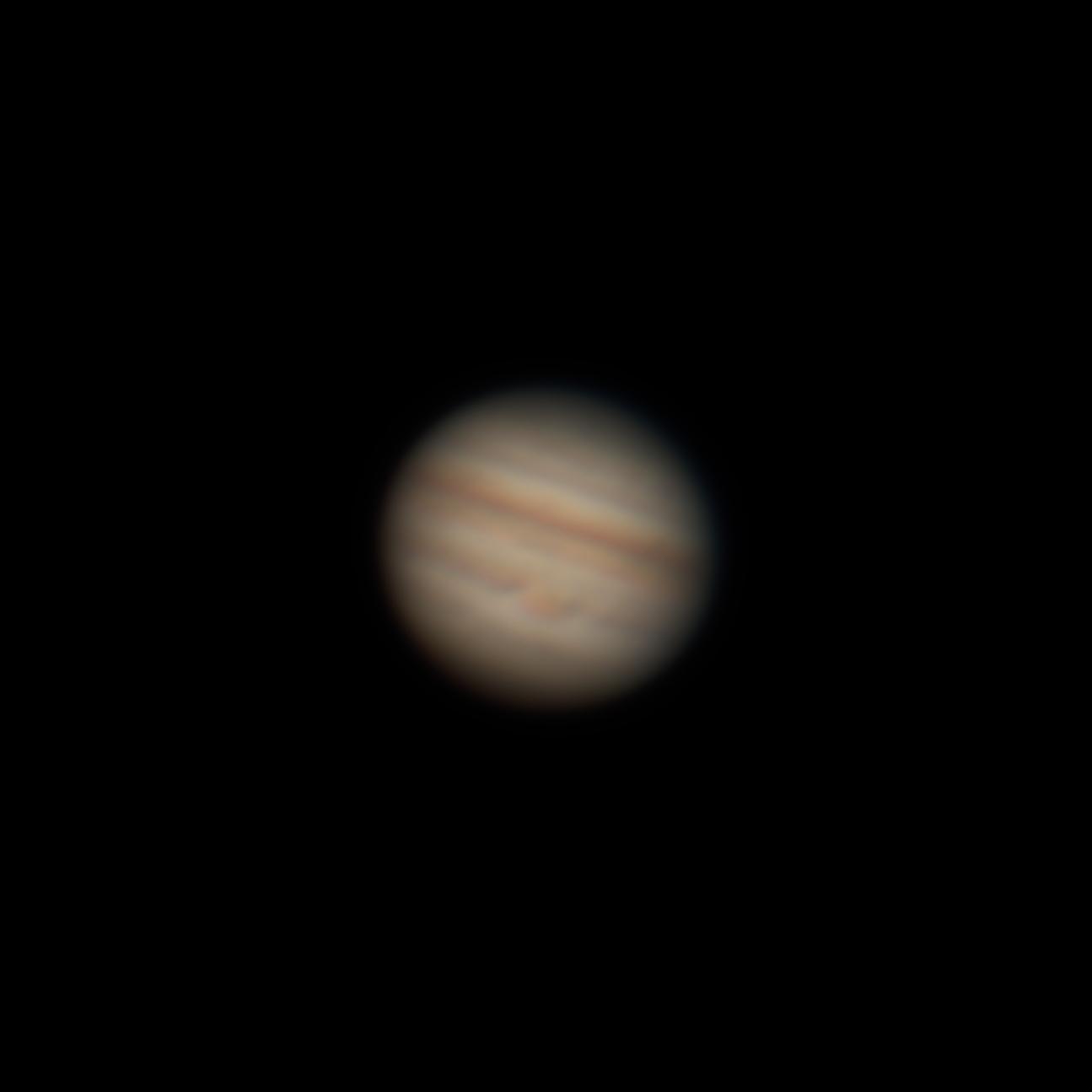 Jupiter mit Großem Roten Fleck